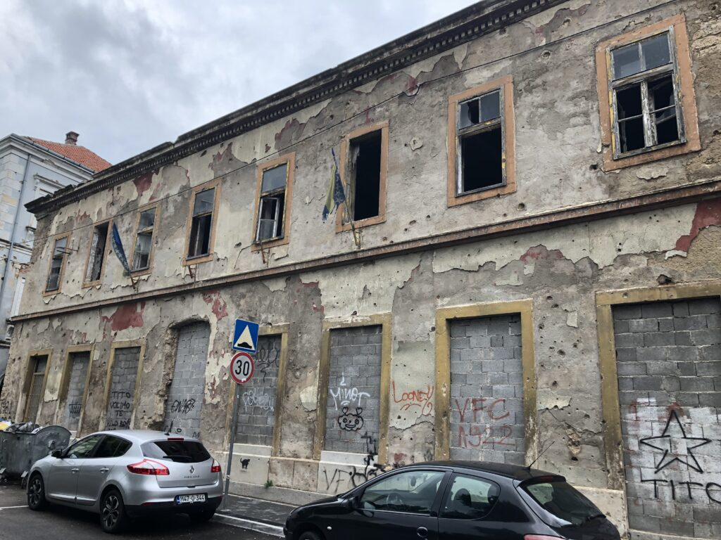 Mostar'dan savaş izleri